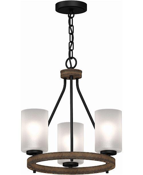 Volume Lighting Emery 3-Light Mini Hanging Chandelier