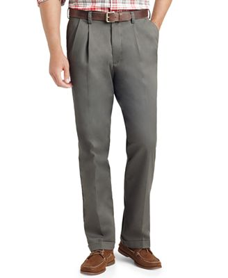 IZOD Big and Tall Double Pleat Pants - Pants - Men - Macy's