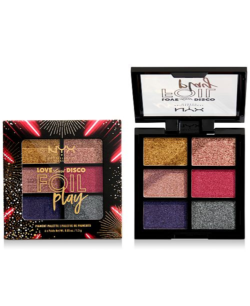 NYX Professional Makeup Love Lust Disco Foil Play Cream Palette