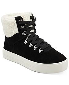 Daire Faux-Fur Sneakers