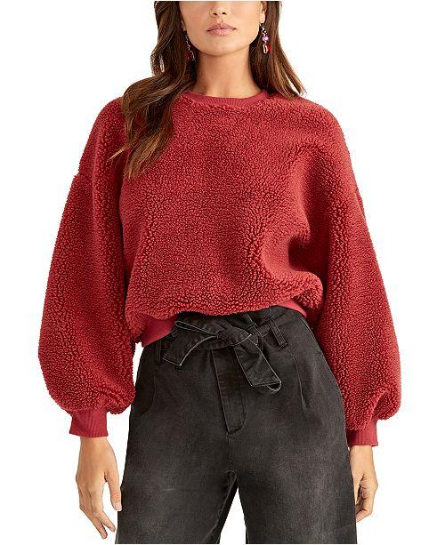 RACHEL Rachel Roy Willa Textured Sweatshirt