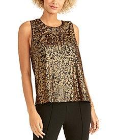 Aline Sequin Top