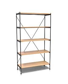 Hudson Industrial Standard Bookcase