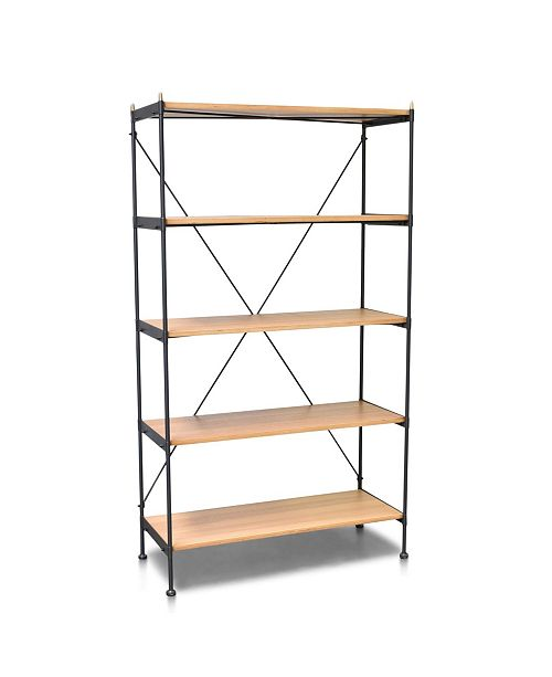 Cenports Hudson Industrial Standard Bookcase