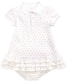 Baby Girls Printed Interlock Cupcake Dress