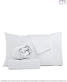Color Sense 325 Thread Count Cotton Luxurious Sateen Sheet Set