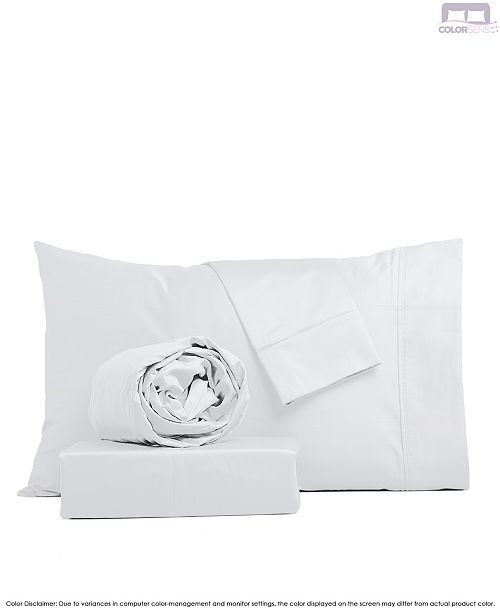 Color Sense Beautifully Crafted Sateen Sheet Set- Twin