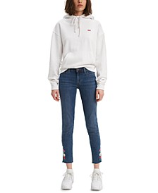 Women's 711 Embroidered Skinny Jeans