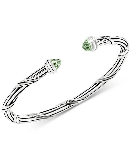 Peter Thomas Roth Prasiolite Cuff Bracelet (2-1/3 ct. t.w.) in Sterling Silver