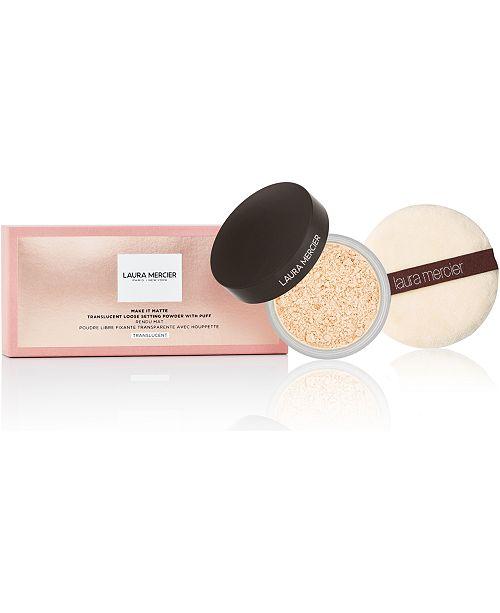 Laura Mercier Loose Setting Powder Limited Edition