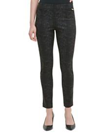 Calvin Klein Snake-Print Pants