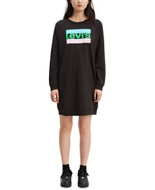 Levi's® Crew Sweatshirt Dress