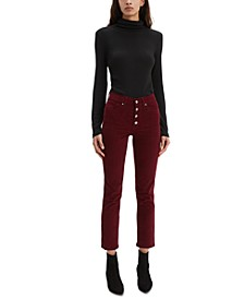 Women's 724 High-Rise Button-Fly Corduroy Pants