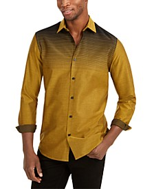 Men's Classic-Fit Gradient-Stripe Shirt, Created For Macy's