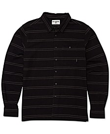 Men's Knit Stripe Shirt