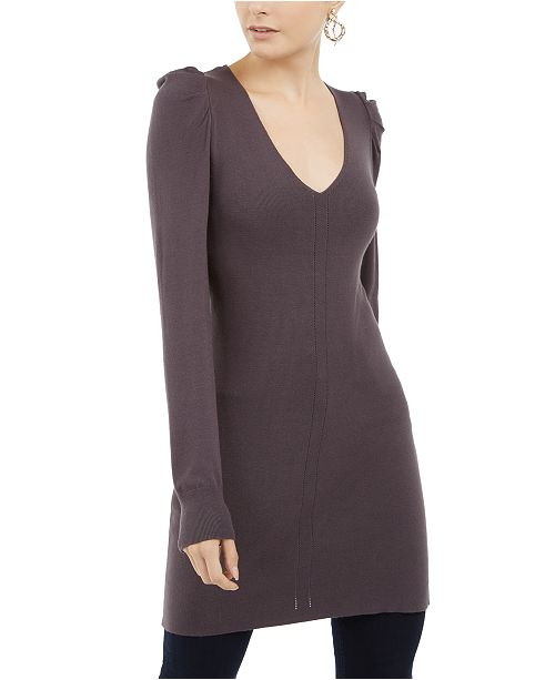 INC International Concepts INC Puff-Sleeve Sweater Tunic, Created For Macy's
