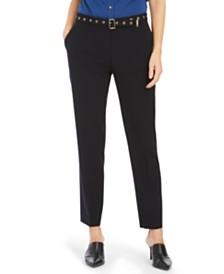 Calvin Klein Belted Skinny Pants