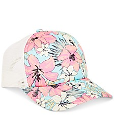 Billabong Big Girls Printed Trucker Hat