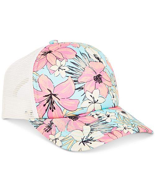 Billabong Big Girls Printed Trucker Hat