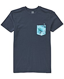 Billabong Big Boys Cotton Printed Pocket T-Shirt