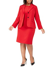 Plus Size Blazer & Sheath Dress