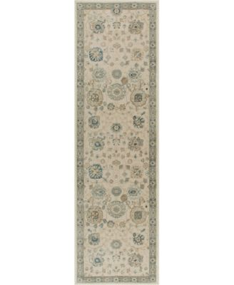 "Chandler Aster Ivory 2'2"" x 7'6"" Runner Area Rug"