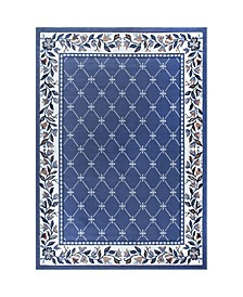 "Global Rug Design Choice CHO02 Blue 9'2"" x 12'5"" Area Rug"