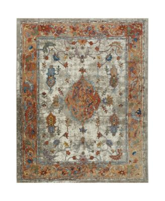 """Parlin Aster Ivory 5'3"""" x 6'9"""" Area Rug"""