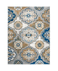 """Haven HAV01 Taupe 7'10"""" x 10'5"""" Area Rug"""