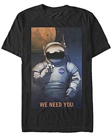 Men's Mars We Need You Short Sleeve T-Shirt