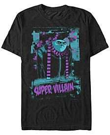 Illumination Men's Despicable Me Gru Neon Super Villain Short Sleeve T-Shirt