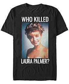 Twin Peaks Men's Who Killed Laura Palmer Short Sleeve T-Shirt