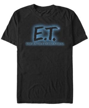 Men's Glowing Logo Short Sleeve T-Shirt
