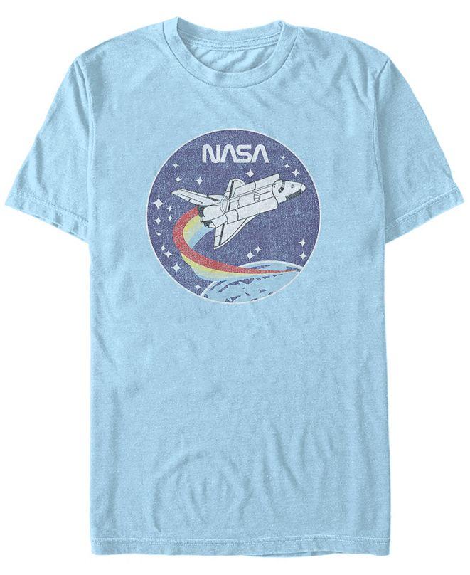 NASA Men's Cloud Burst Logo Short Sleeve T-Shirt