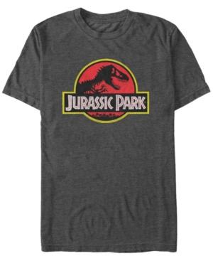 Men's Classic Distressed Logo Short Sleeve T-Shirt