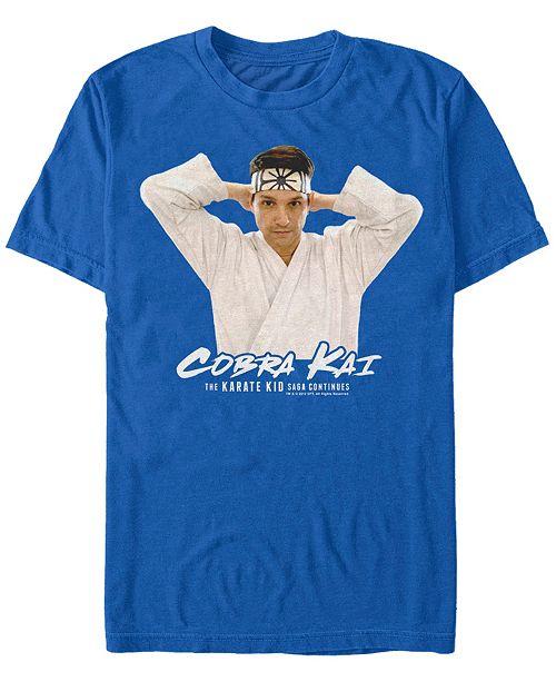 Cobra Kai Sony Men's Karate Kid Profile Short Sleeve T-Shirt