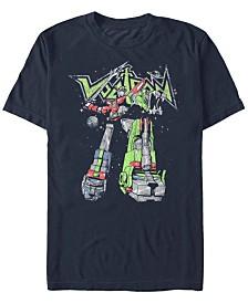 Voltron: Defender of the Universe Men's Defensive Strikes Short Sleeve T-Shirt