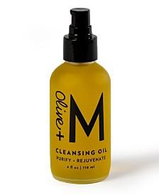 Olive + M Cleansing Oil 4, Oz.