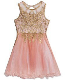 Big Girls Embellished Ballerina Dress