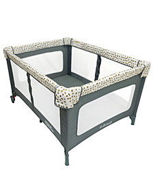 Romp & Roost Luxe Play Yard - Gold Tone Pods