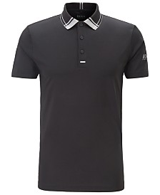 BOSS Men's Pauletech Pro Slim-Fit Golf Polo Shirt