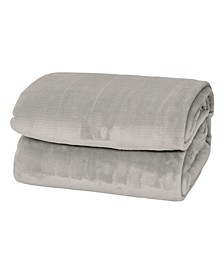 Silky Soft Thick Plush Blanket - Full/Queen