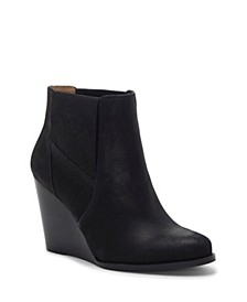 Ciandra Wedge Booties