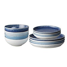 Studio Blue 12-PC Dinnerware Set, Service for 4