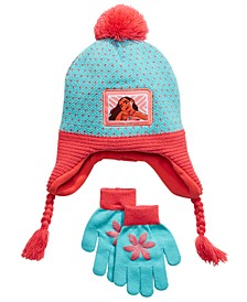 Big Girls 2-Pc. Moana Heidi Hat & Gloves Set