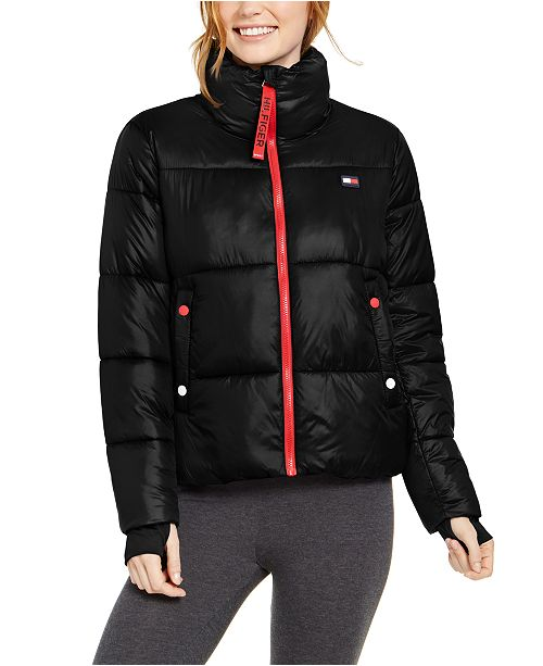 Tommy Hilfiger Cropped Puffer Jacket
