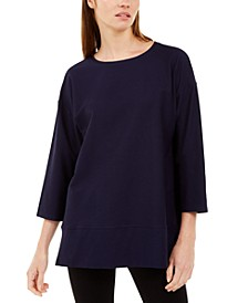 Bracelet-Sleeve Tunic Top