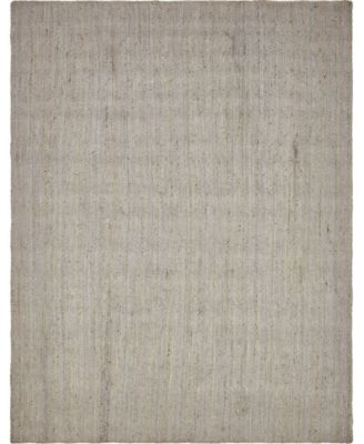 Braided Jute B Bjb5 Gray 2' x 3' Area Rug