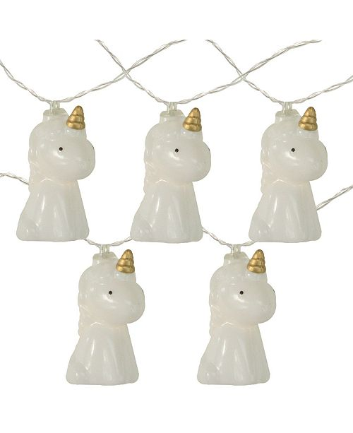 Northlight Battery Operated Unicorn Summer LED String lights