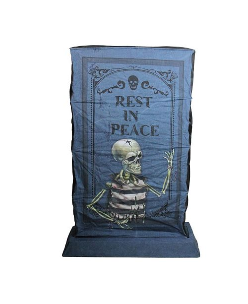Northlight LED Lighted Rip Tombstone Halloween Outdoor Decoration